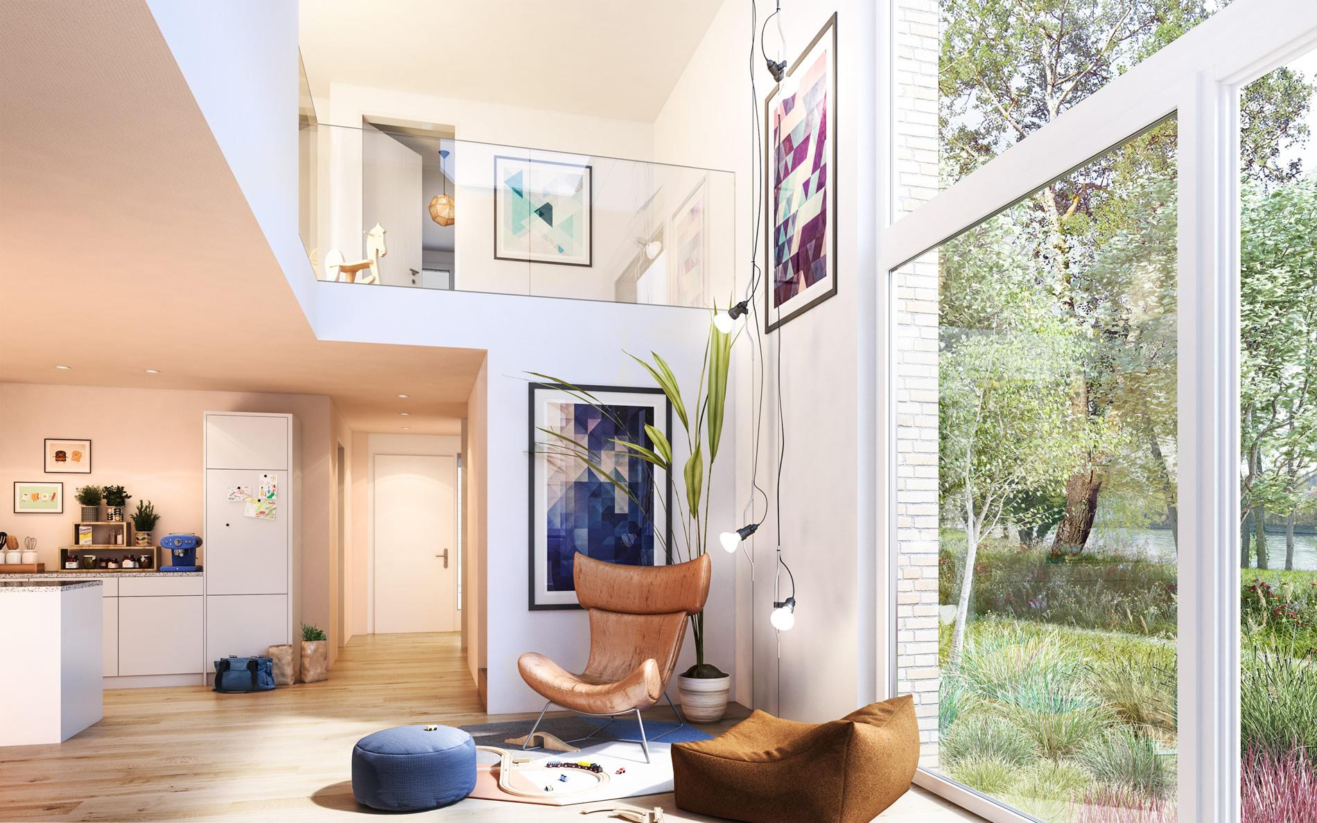 am ufer auf zu neuem wohnen. Black Bedroom Furniture Sets. Home Design Ideas